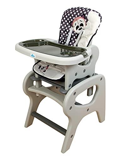Trona para bebé convertible en mesa y silla, modelo...