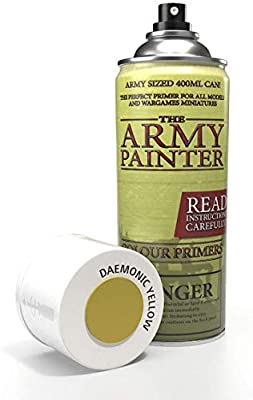 The Army Painter Color Primer 400ml, 13.5oz - Acrylic Spray Undercoat for Miniature Painting