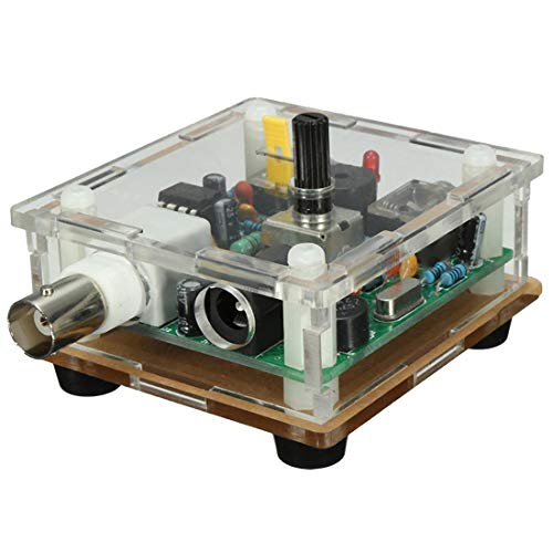 Hrs Qrp Kit Cw Transmitter voor 40 meter 7.023 Mhz met Box plexiglas