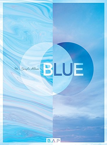 Loen B.A.P Bap - Blue (7Th Single Album) [Random Ver.] Cd+Photobook+Extra Photocard Set