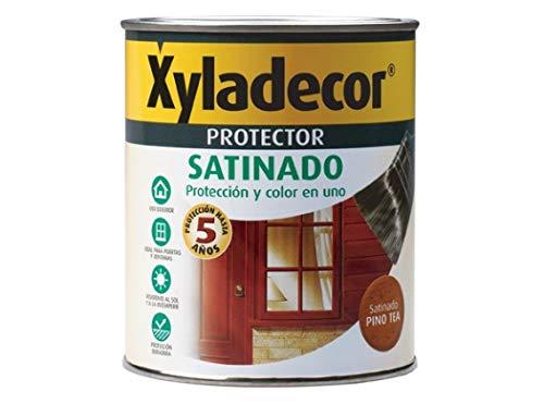 Xyladecor 5089325 Protector Satinado Nogal 750 ML