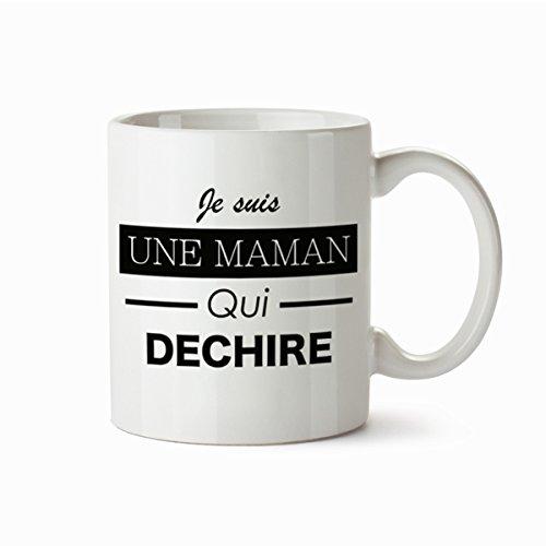 THEcoque MUG Tasse en ceramique Cafe - Made in France - Livraison Express