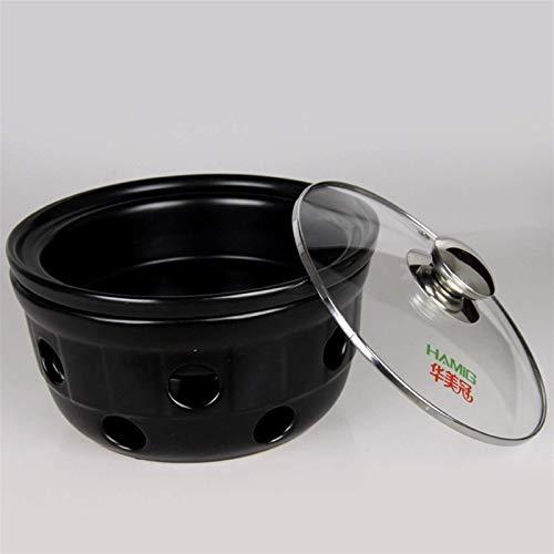 Pote saludable cocinar pote cacerseroles esmalte de esmalte fundido de hierro fundido, olla de sopa, salsa de balancín redondo de hogar, espesamiento binaural, cocina de inducción de gas universal. Mo
