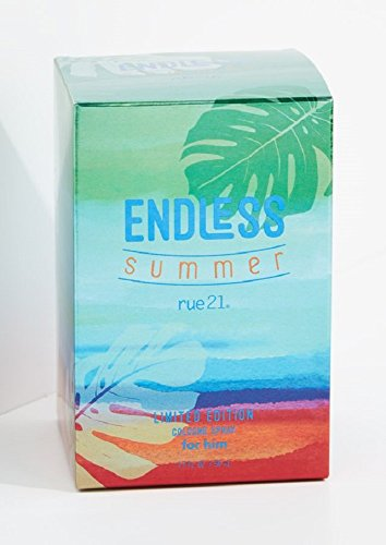 Rue21 Endless Summer 2017 Limited Editon Cologne Spray For Him 1.7 Ounce New In Box