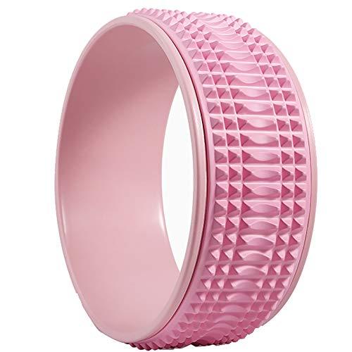 YLiansong-home Rueda de Yoga Equipo de Yoga para Principiantes Inicio Aptitud Anillo de Yoga Rueda de Yoga Curva Abierta por Estiramiento (Color : Pink2, Size : 13x32.5cm)