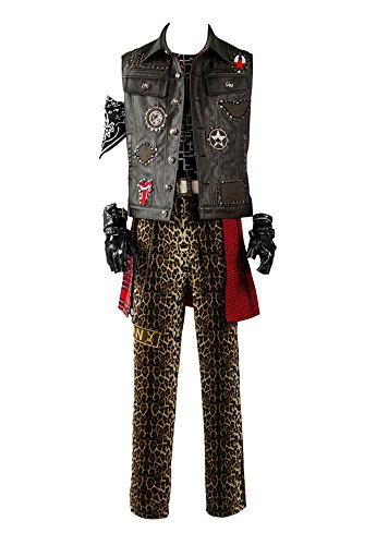Final Fantasy XV FF15 Prompto Argentum Outfit Cosplay Kostüm Herren XL
