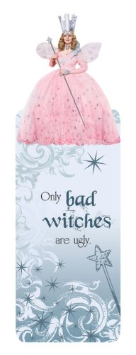 Paper House Productions BMGL-0001E Glitter Bookmark, The Wizard of Oz - Glinda (6-Pack)