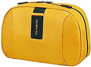SAMSONITE Paradiver Light - Toilet Kit Trousse de Toilette, 28 cm, 6.5 liters, Jaune (Yellow)