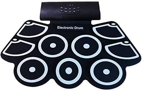 Tambor portátil mano batería electrónica batería para niños Principiantes Percussion DTX juego...