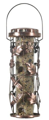 Perky-Pet Mangeoire à oiseaux Jardin Cuivré décoration pour le jardin avec crochet de suspension - Capacité max. 450g de graines #550