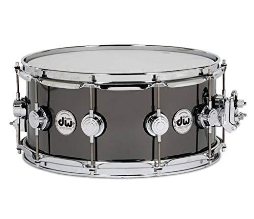 DW Design Series Black Nickel over Brass Snare Drum 14x5.5 Inch