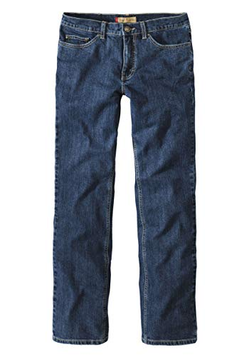 Paddock`s Herren Jeans Ranger - Slim Fit,4480, Navy Blau Stone,33W / 32L