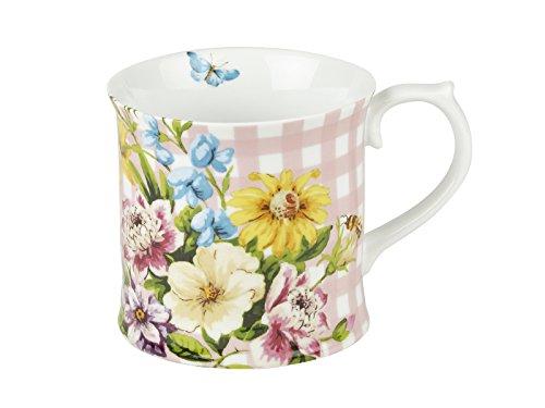 CREATIVE TOPS Katie Alice Ditsy Floral Servierteller aus edlem Porzellan, 29,5 x 15 cm (11,5 x 6 Zoll), Keramik, One Size
