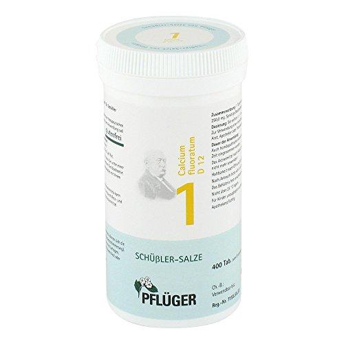 Biochemie Pflueger 1 Calcium fluor. D 12 Tabletten, 400 St
