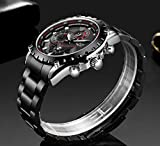 Zoom IMG-1 lige orologi da uomo acciaio