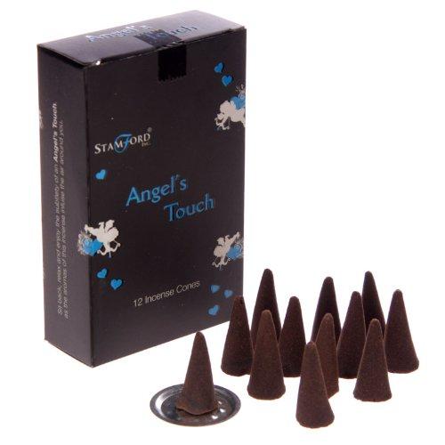 Conos de incienso Stamford Black 144(12cajas, 12conos) o mixto Sampler Pack (del ángel Touch)