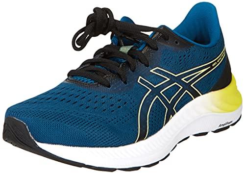 ASICS Gel-Excite 8, Zapatillas de Running Hombre, Deep Sea Teal Glow Yellow, 41.5 EU