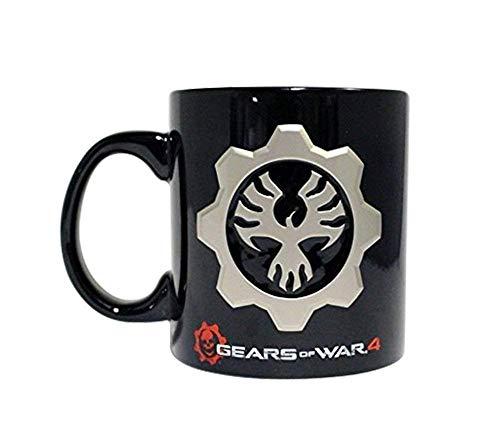 Gears of War 4 COG Emblem 10oz Taza de café de cerámica
