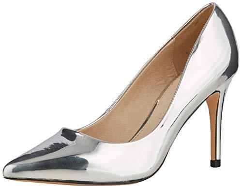Buffalo Fanny, Zapatos de Tacón Mujer, Gris (Silver 001), 40 EU