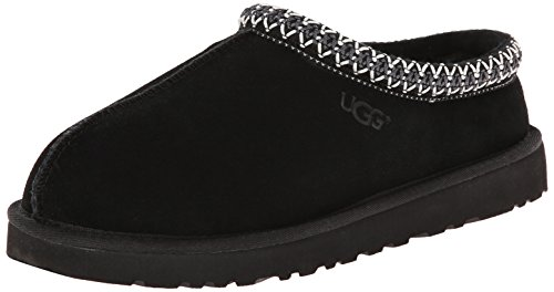 UGG Australia Men's Tasman Black Suede Slippers - 12 D(M) US