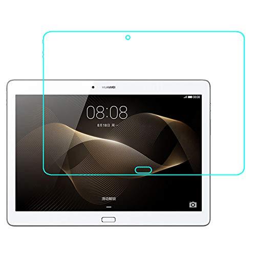 GOGODOG [2 Stück] Huawei MediaPad M2 Tablet 10.1 Inch Schutzfolie Display Schutz Temperiert Glas Film Anti Fingerabdruck Kristall klar 9 St&en Festigkeit Transparent Prämie Folie zum M2-A01L