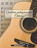 Quaderno Pentagrammato Chitarra: per musicisti,...