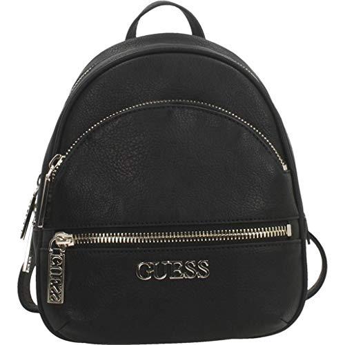 Guess Manhattan Small Backpack, Donna, Nero, Taglia Unica