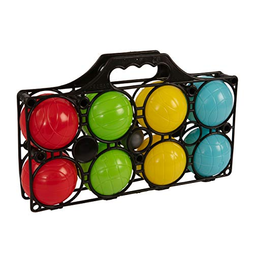 HTI Toys & Games 8 Piece Boules Carry Case | Outdoor Family & Friends...