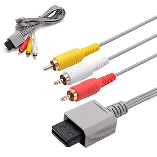AV Cable for Nintendo Wii/Wii U by QAQBOYS...