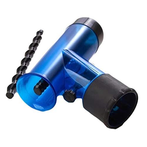 Nosii Tragbare Haartrockner Diffusor Wind Spin Abnehmbare Trocknen Schlag Haar Diffusor Roller Curler Styling Werkzeug Haartrockner Abdeckung (Color : Blau)