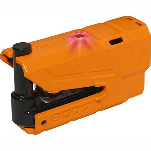ABUS AB4301 GRANIT Detecto XPlus 8077 Vorhängeschloss, orange, 48mm