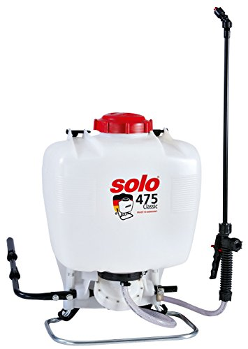 Solo Classic 15 Liter Rückenspritze, 47521, Weiß, 36 x 22 x 51 cm