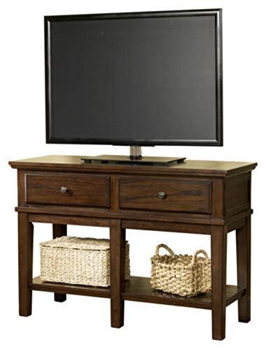 Signature Design by Ashley Gately Console Sofa Table Medium Brown