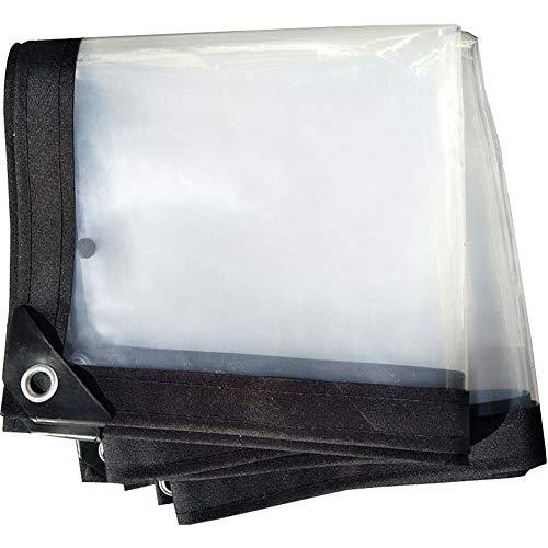 IDWOI doorzichtig dikker dekzeil regendicht tarp grondzeil covers tent kunststof plaat polytheen zwaar duty kas