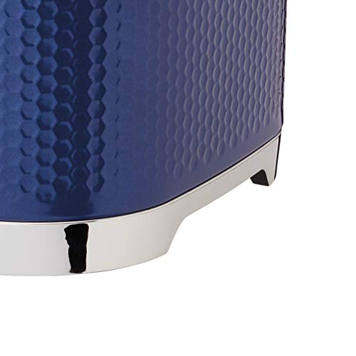 KitchenCraft Lovello Cake Storage Tin - Midnight Navy