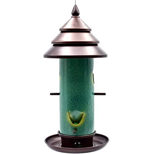 JXXDDQ Récipient de Nourriture de mangeoires d'oiseaux extérieurs de conducteur d'oiseau Sauvage, Haut 40cm