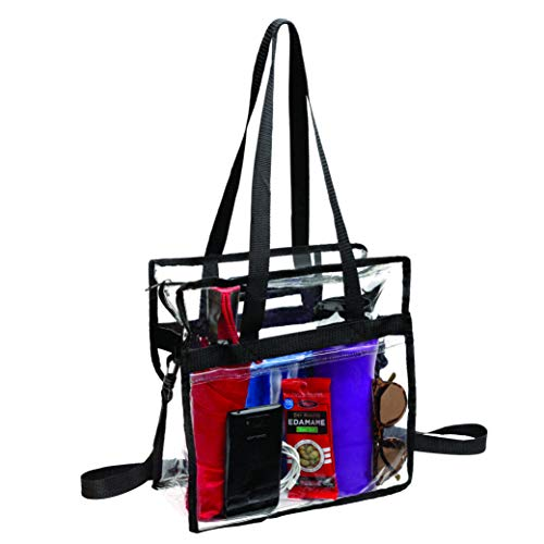 Amazing Deal Bags for Less Clear Tote Stadium Approved with Adjustable Shoulder Straps