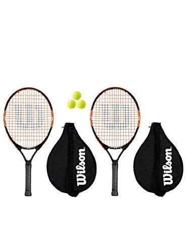 Head Wilson - 2 X Raquetas de Tenis Infantiles Radical 23 +...
