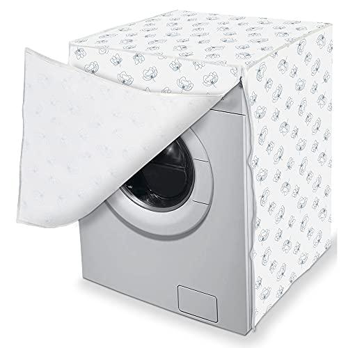 Alphaitalia Cuvry Copertura frontale per lavatrice, multicolore, 60 x 60 x 80 cm