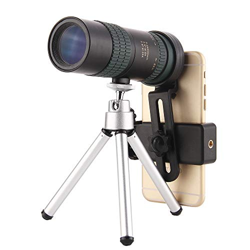 DKEE Binoculars Monokulare Zoom Teleskop Hohe Vergrößerung HD Mini Kann Auf Handy-Kamera-Teleskop Wenig Licht Teleskop Tragbares Teleskop Angeschlossen Werden 8-24X