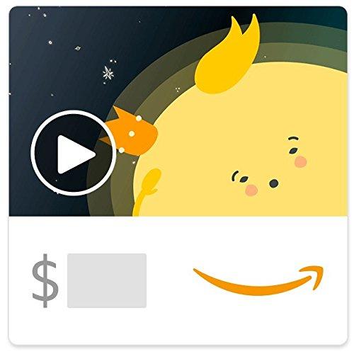 Amazon eGift Card - Another Year Around the Sun (Animated) (Birthday)