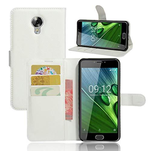 Litao-Hülle CN Hülle für Acer Liquid Z6 Plus hülle Flip Leder + TPU Silikon Fixierh Schutzhülle Hülle 9