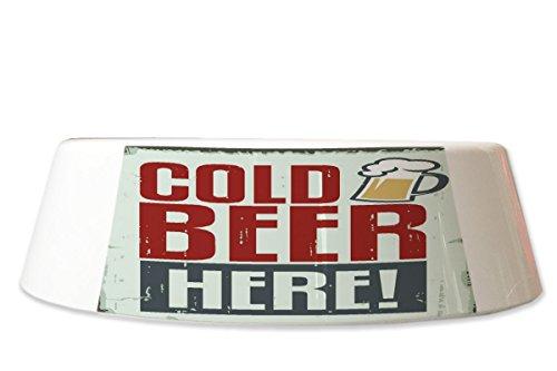LEotiE SINCE 2004 Fress Futter Napf Brauerei Bier Küche Kaltes Bier Bedruckt