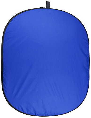 2in1 Falthintergrund grün/Blau, 150x210cm