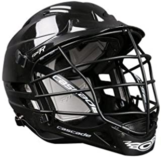 Cascade CPV-R Lacrosse Helmet with Black Face Mask (Choose Your Shell Color)