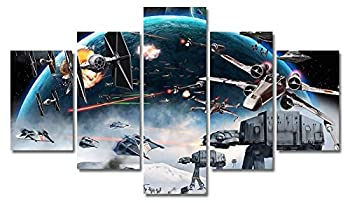 Star Wars Canvas Wall Decor Movie Painting Print Art for Living Room Kids Home Decoration Unframed  No Frame,Only Canvas