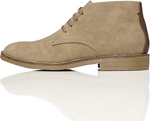 find. Albie Heavy Rand Desert Boots, Beige (Sand), 43 EU