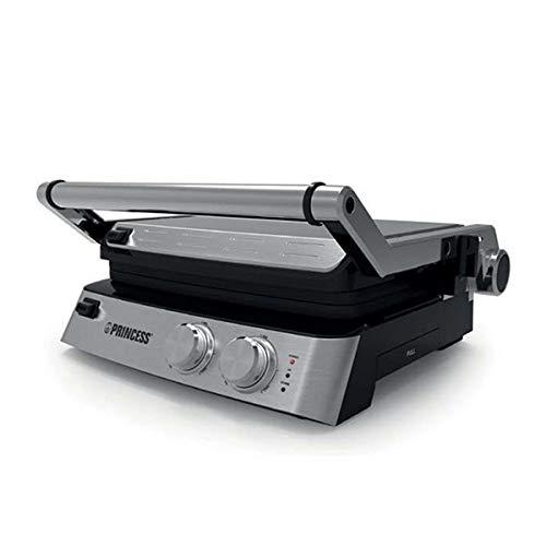 Eurowebb Grill électrique à plaques Amovibles - Cuisson Rapide de Viande Plaque Large