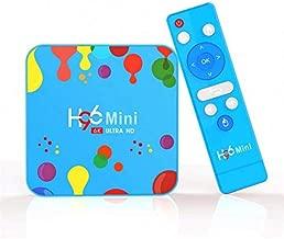 H96 Mini H6 4GB RAM 128GB ROM Android 9.0 TV Box Dual Band 5G WIFI bluetooth 4.0 4K 6K