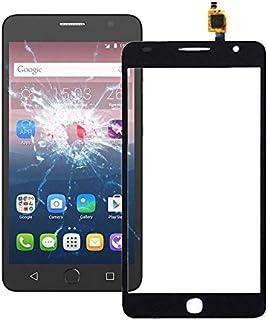 QFH Touch Panel for Alcatel One Touch Pop Star 4G / 5070 قطع غيار لوحة اللمس للهاتف المحمول (Color : Black)